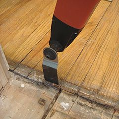 Making A Repair Patch In Thin Hardwood Flooring