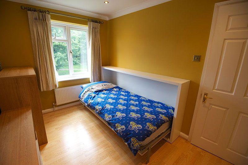Best Hideaway Bed And Desk Combination Small Bedroom Storage 400 x 300