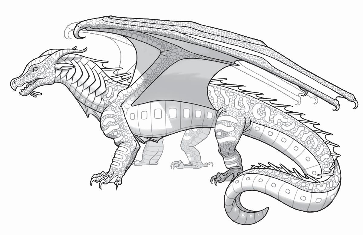 Military Base Coloring Pages Dragon Coloring Page Wings Of Fire Dragons Wings Of Fire