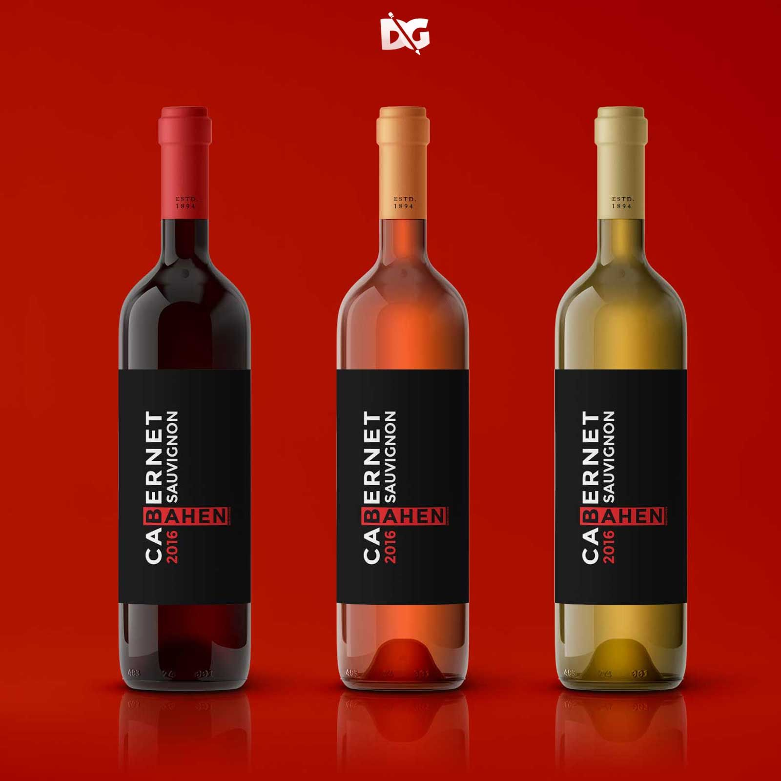 Label Design Mockups Red Wine Labels Wine Label Design Label Design