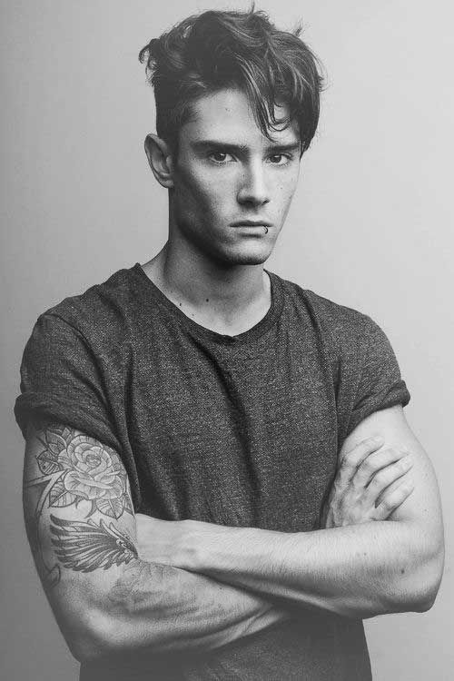 Edgy Mens Hairstyles Diego Barrueco Haircuts For Men Hair And Beard Styles