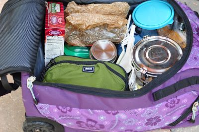 The Whole Life Nutrition Kitchen: Packing Healthy Food for Air Travel
