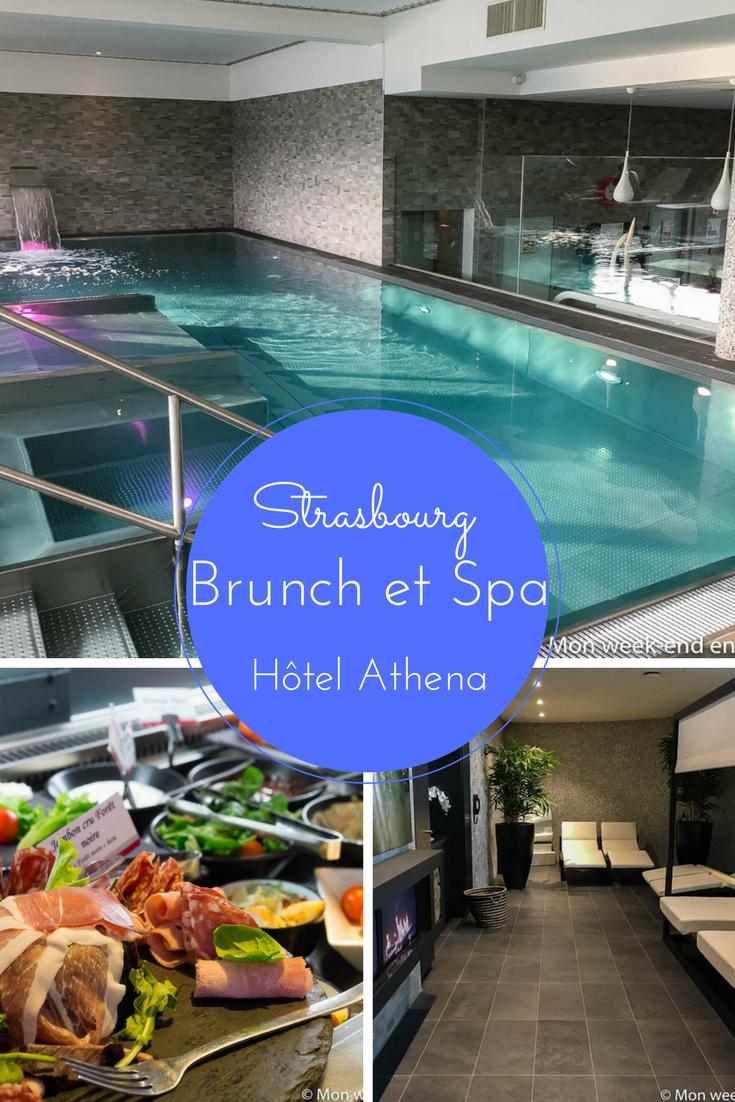 Test de la formule brunch et spa de l'hôtel Athena de Strasbourg - Une bonne idée pour un dimanche après-midi relaxant!