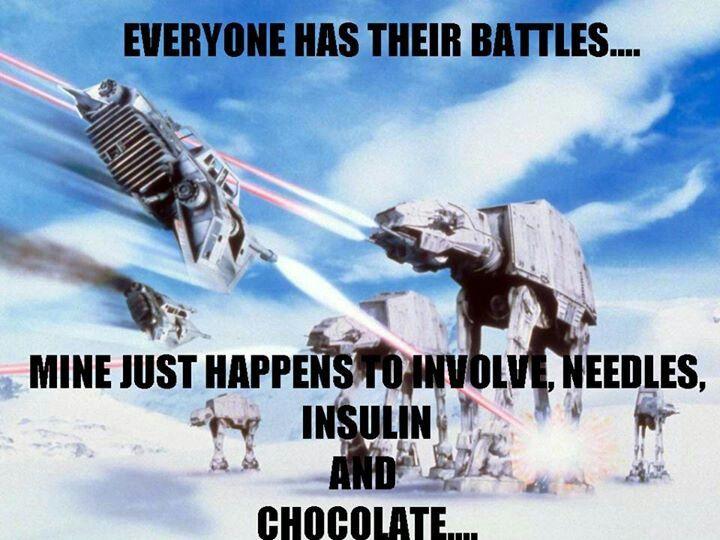 Battle of Hoth Star wars Diabetes memes, Star