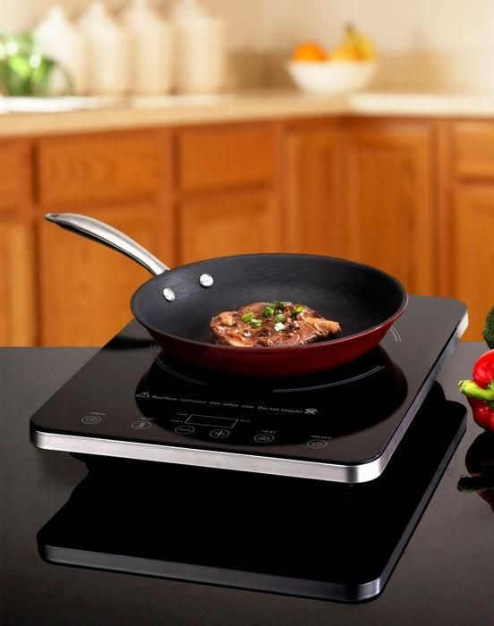 Combine Elegance And Efficiency With Eurodib S 1800 Watt Induction Cooktop Combo Technology Provides Fast Precise Safe Cooking