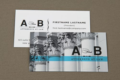 Classic Law Firm Business Card Flickr Photo Sharing