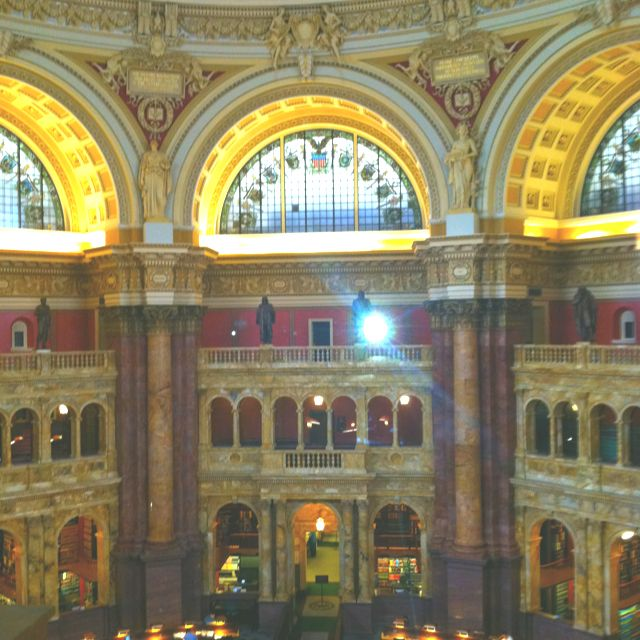 The Library of Congress in Washington, DC