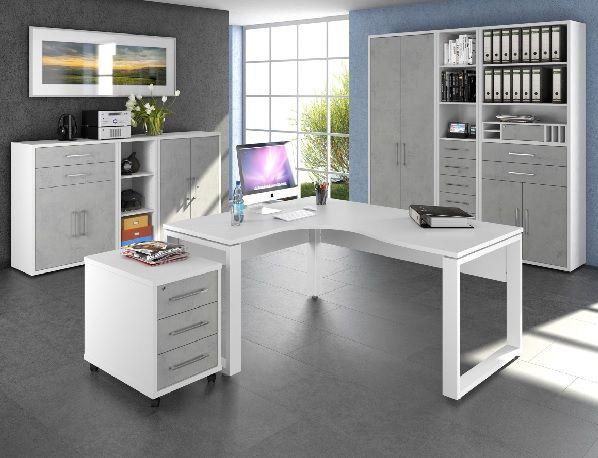 vito Schreibtisch VITO WEB Weiß Arbeitszimmer Pinterest