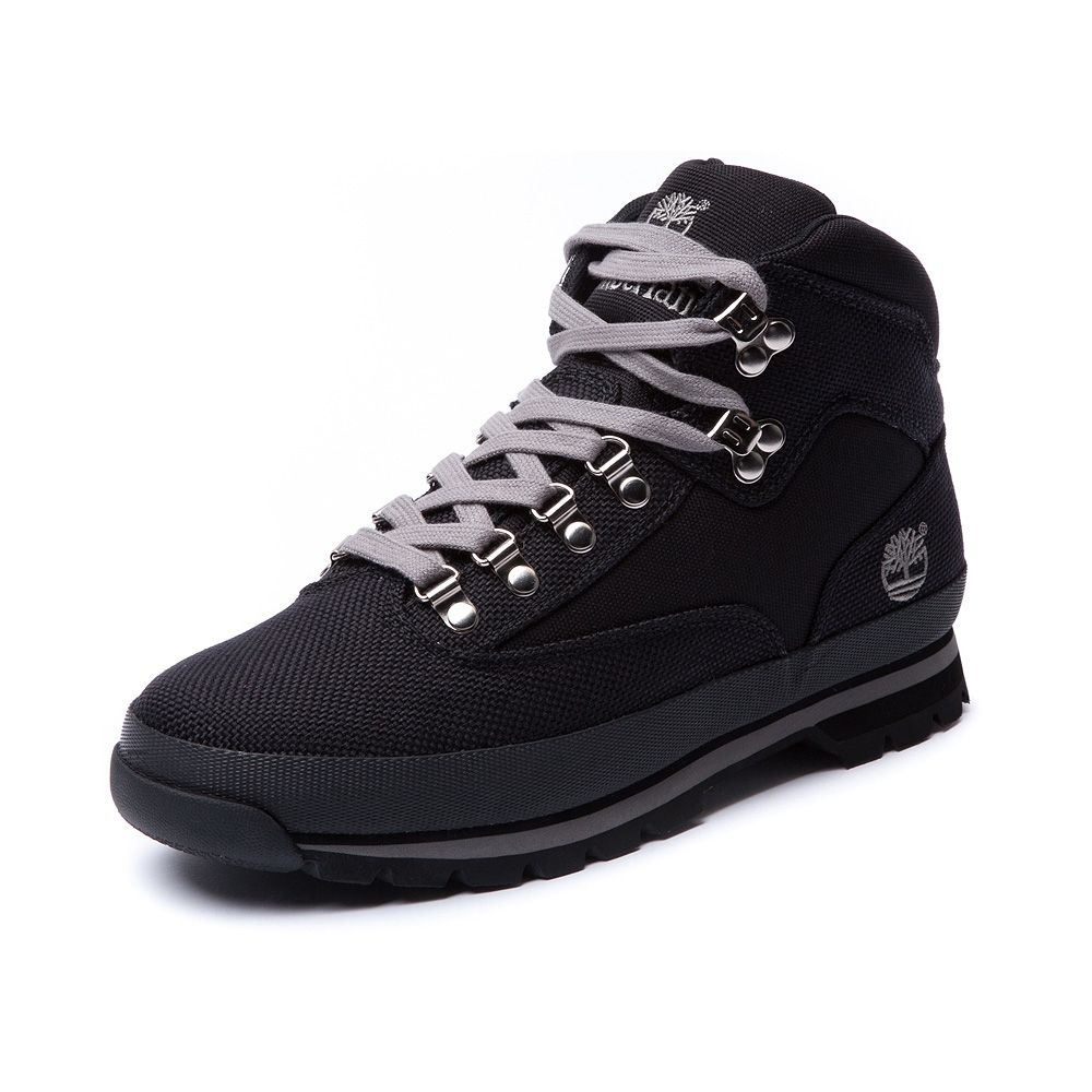 Shop for Mens Timberland Canvas Euro Hiker Boot in Black at Journeys Shoes.