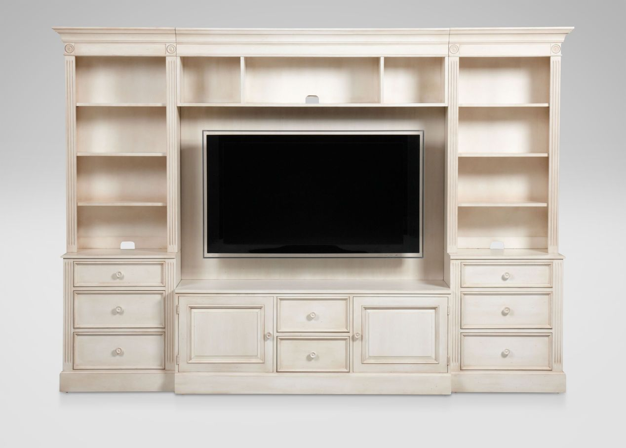 Buy Ethan Allenu0027s Wagner Glass Door Media Center Or Browse Other Products  In Media Cabinets.