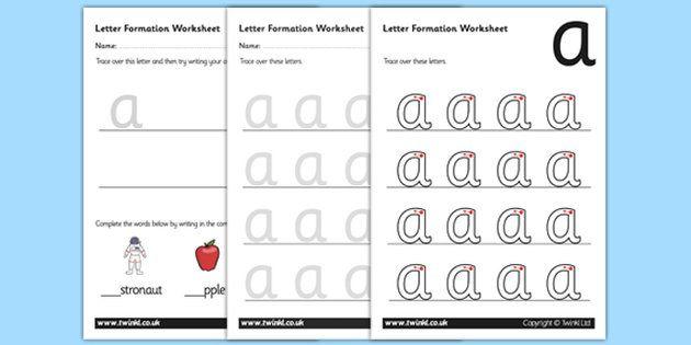 a z letter formation worksheets pp resources pinterest best letter formation worksheets. Black Bedroom Furniture Sets. Home Design Ideas