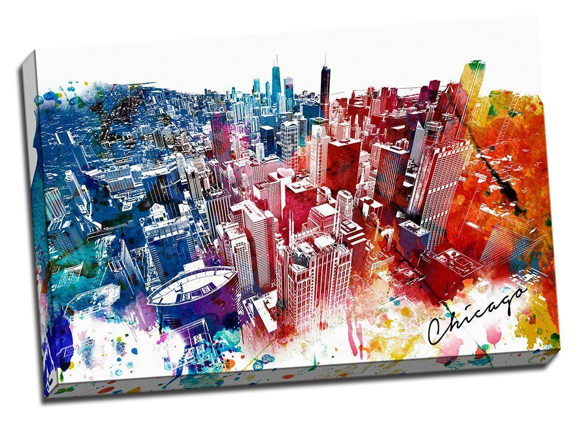 urban canvas art work