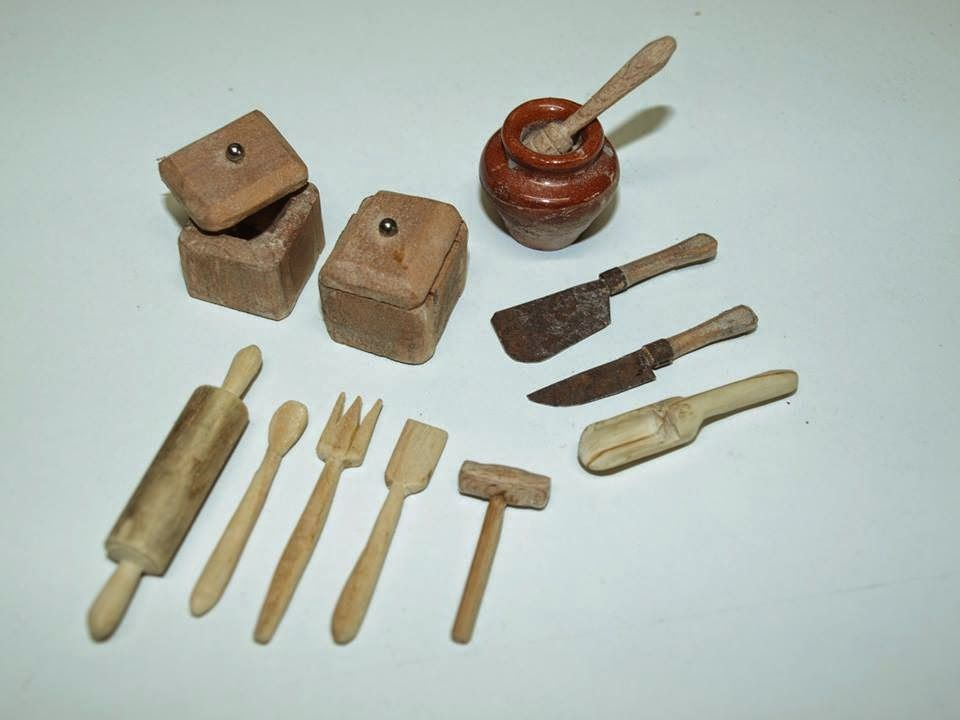 Miniaturas instrumentos artesanales belen miniaturas Herramientas artesanales