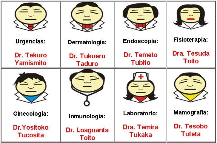 Hospital Japones Humor Humor Chistes En Castellano Especialidades Medicas