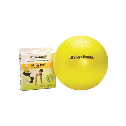 Theraband Mini Ball Small Exercise Ball For Abdominal Workouts