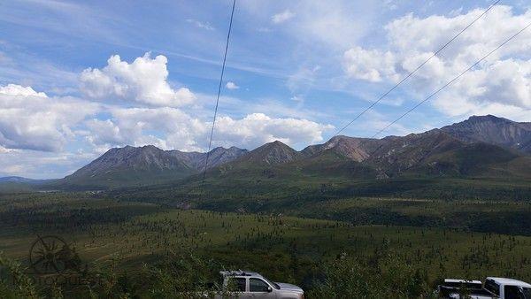 Beautiful Alaska. Alaska Backcountry Explorer Motorcycle Adventure with MotoQuest 2015 : https://www.motoquest.com/guided-motorcycle-tour.php?alaska-motoquest-camp-36
