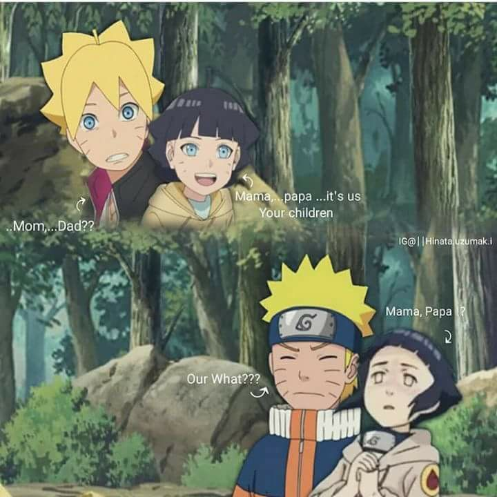 Naruto and hinata meets parents valuable