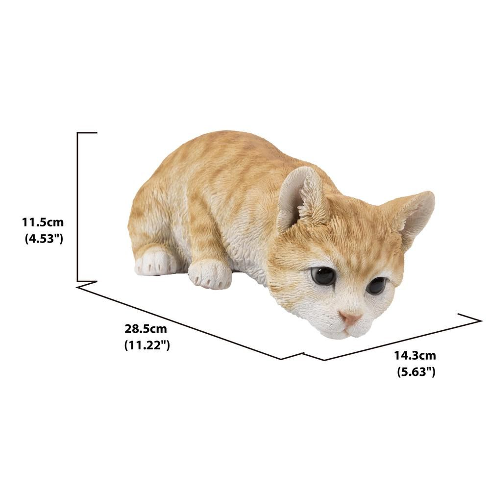 Hi Line Gift Orange Tabby Cat Looking Over Ledge Statue 87757 M Orange Tabby Cats Cats Sphynx Cat