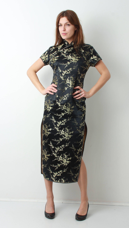 Cheongsam Kleid / China Kleid / Chinesisch Kleid / asiatische
