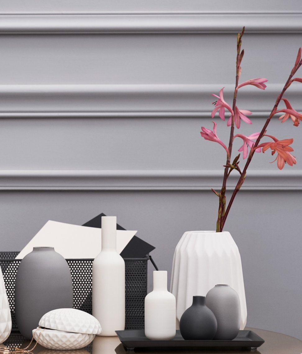 Lille vase i glas | Hvid | Home | H&M DK