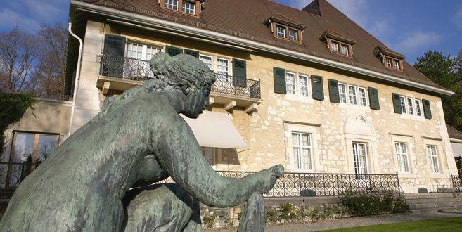 Oscar Reinhardt's mansion and collection in Winterthur, Zurich.
