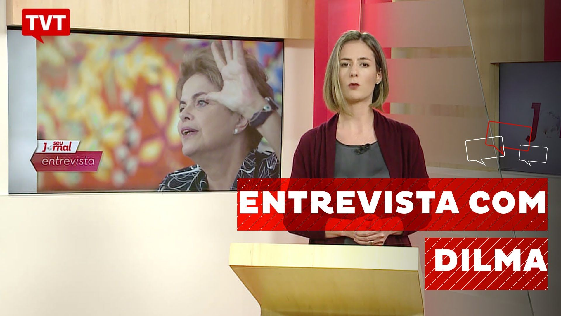 """Dilma: """"Eles não me tiraram, eu continuo sendo presidenta"""""""