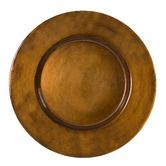 "Found it at Wayfair - Antique 13"" Copper Charger Plate"