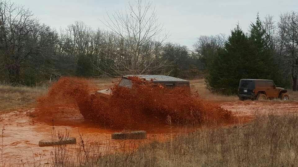 Jeep + mud = fun