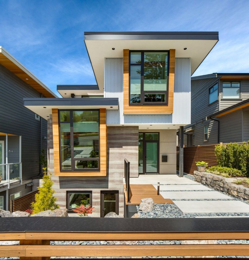 Green home in canada with contemporary exterior design ideas contemporary green home design in for Eco homes canada