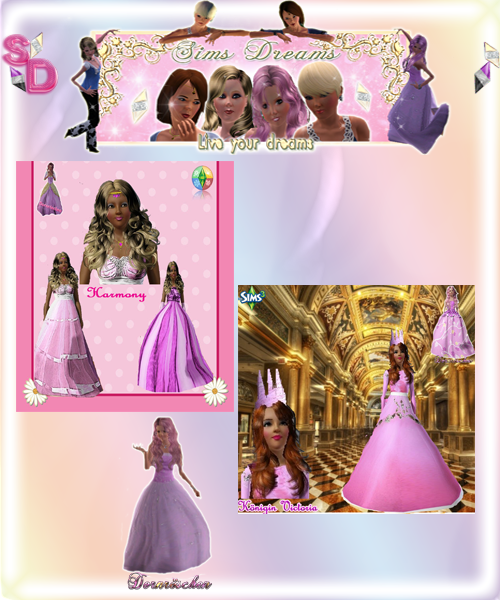 here is our Update from Today this Beautyful Sim Ladys by Dornröschen and Püppi72,have fun with it.  Harmony http://www.sims3dreams.at/filebase/index.php?page=Entry&entryID=1460&  Queen Victoria http://www.sims3dreams.at/filebase/index.php?page=Entry&entryID=1605&  Danielle Rocha http://www.sims3dreams.at/filebase/index.php?page=Entry&entryID=1643&  Penelope Parker http://www.sims3dreams.at/filebase/index.php?page=Entry&entryID=1644& greetings your Sims Dreams Team