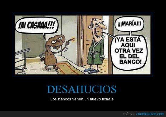 E.T. y los #desahucios