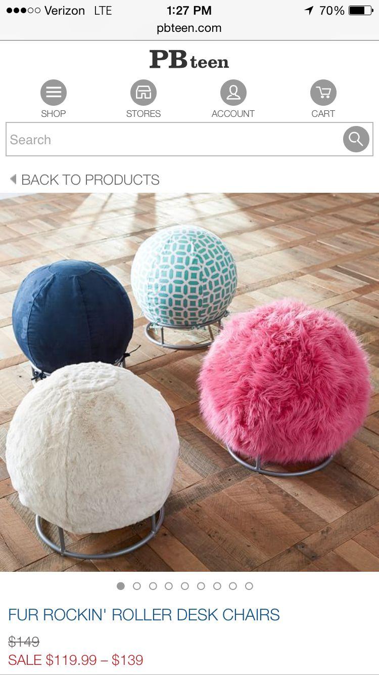 Fuzzy Ball Chair