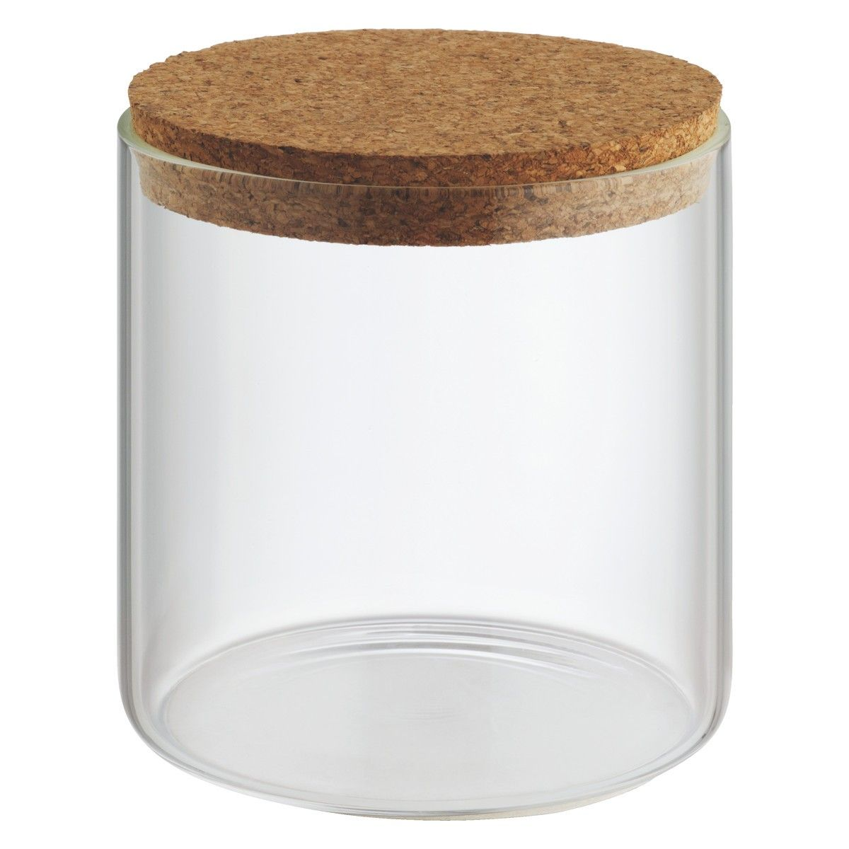Jadon Small Glass Storage Jar With Cork Lid H12cm Interior Ideas