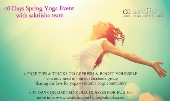 40 days of yoga