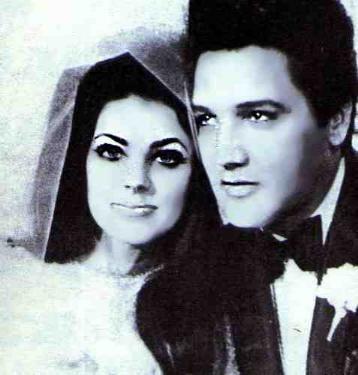 pictures to buy of elvis and priscilla wedding | Elvis and Priscilla Presley : I have always adored Priscilla's ...