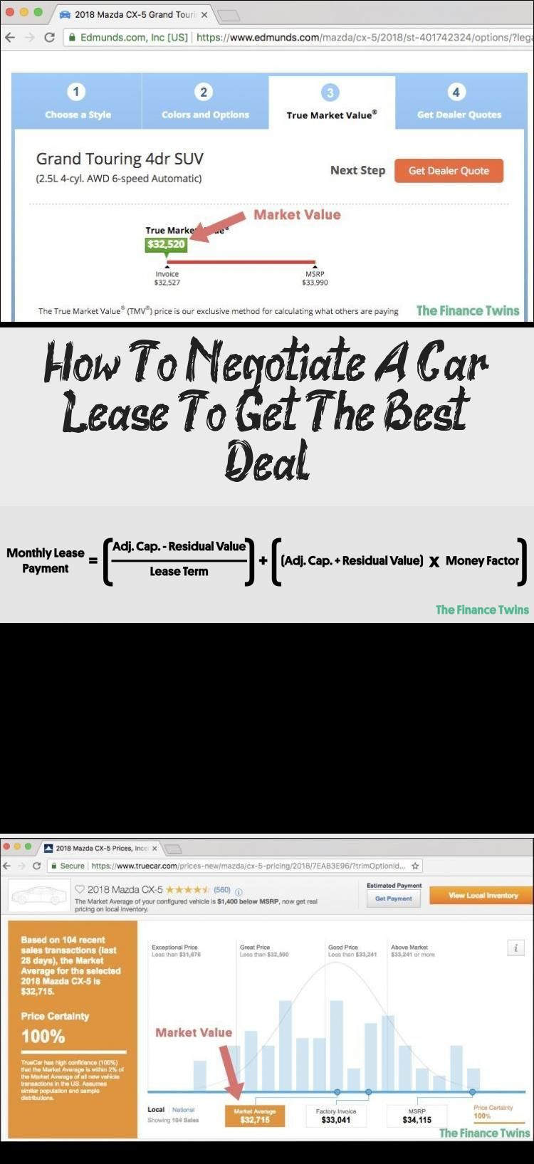 How To Negotiate A Car Lease To Get The Best Deal Car In 2020 Car Lease Negotiation Lease
