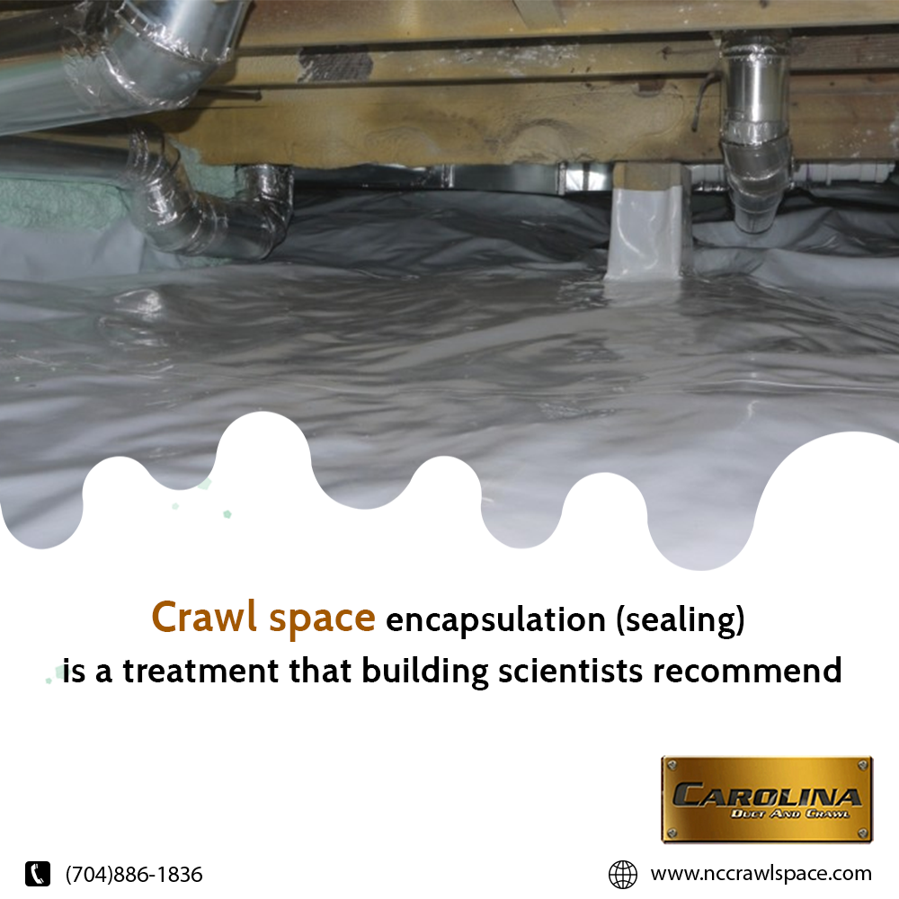 Carolina Duct and Crawl Duct cleaning, Crawl space