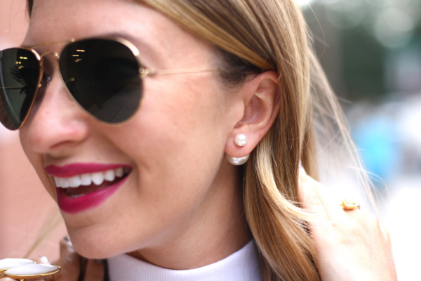 360 Pearl Stud Earrings An Everyday Accessory Dressed By Jess