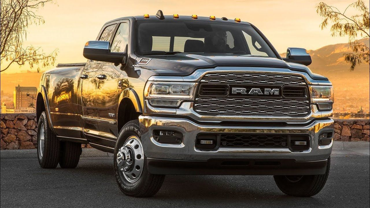 2020 Ram 3500 Heavy Duty Limited Crew Cab Dually Dodge Ram