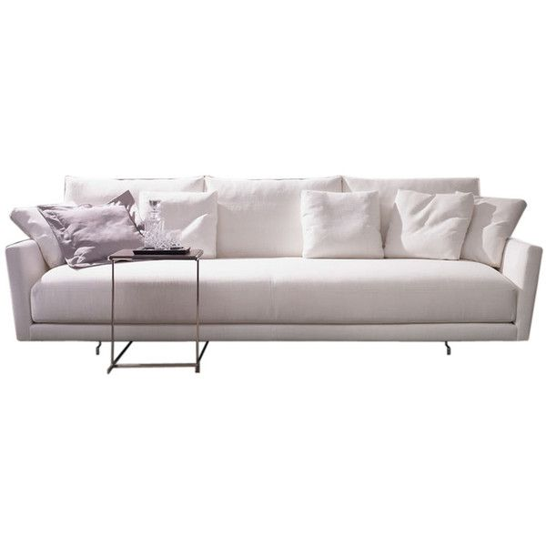 Angelo Sofa 3 175 Cad Liked On Polyvore Featuring Home Furniture Sofas
