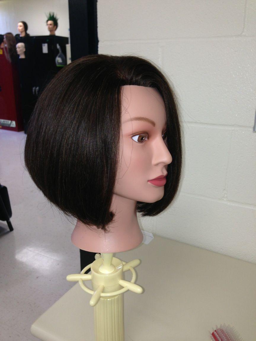 45 Degree Haircut Hair Makeup Pinterest Hair Cuts Hair And