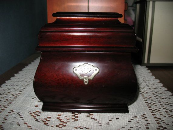 Bombay Furniture Jewelry Box in Deep Cherry by MyHeartlandHome