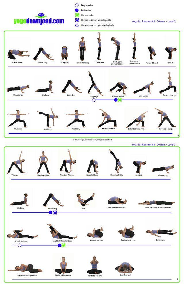 Imgur Com Yoga For Runners Yoga Sequences Yoga Program