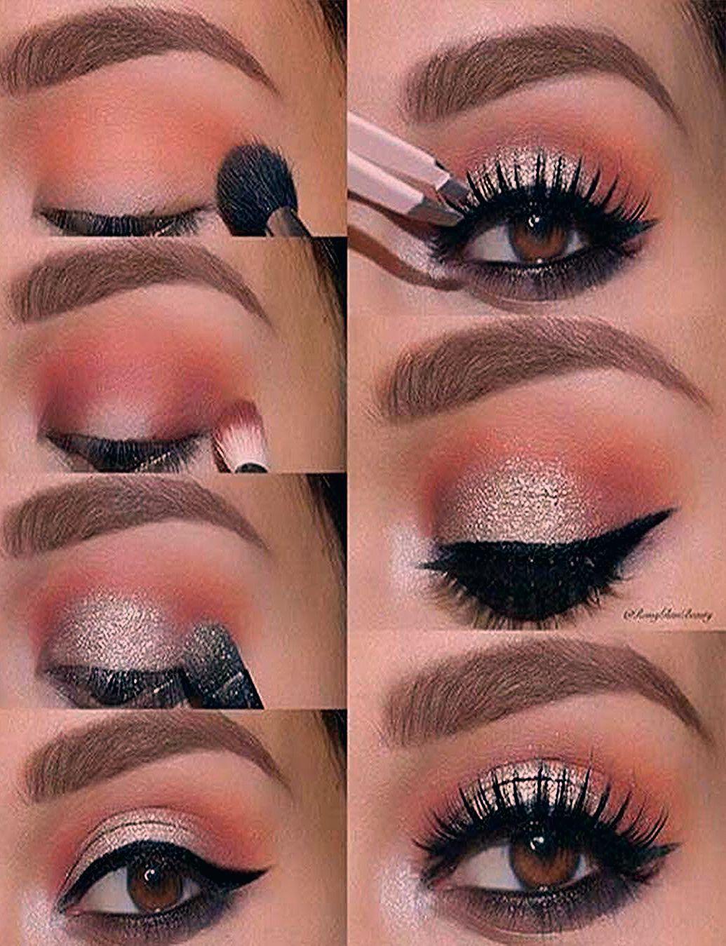 Photo of Maquillaje de ojos de NOCHE paso a paso originales y elegantes
