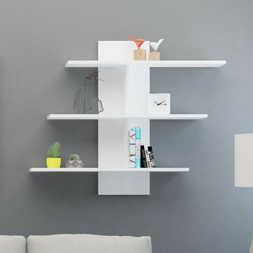 Ebern Designs Channelle Wall Shelf Unique Wall Shelves Wall