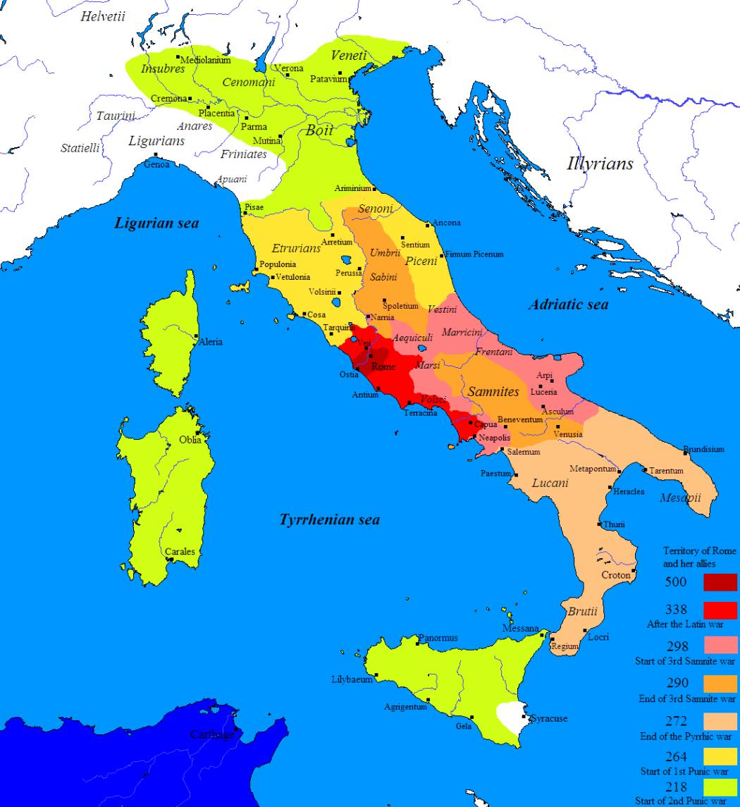 Cartina Italia Romana.L Impero Romano Ascesa E Declino In 30 Mappe Roman History Map Roman Armor