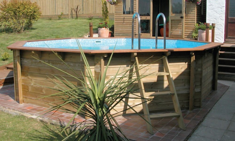 Wooden Surround For Intex Pool Google Search In Ground Pools