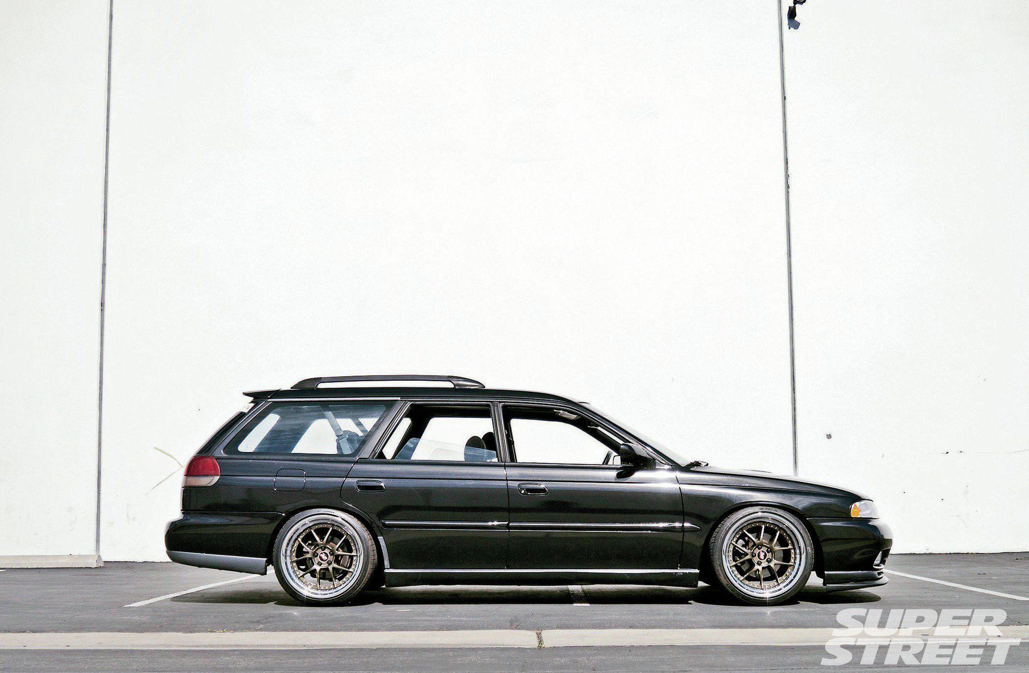 We take Import Tuner's old 1998 Subaru Legacy GT Wagon