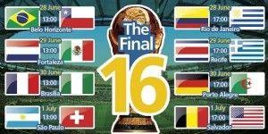 Ottavi Mondiali 2014 Ecco Brasile Cile E Colombia Uruguay Brasile Uruguay Colombia