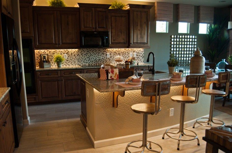 Enthralling Kitchen Center Island Furniture with Ceramic Tile Mosaic ...